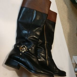 Micheal Kores Leather Boots